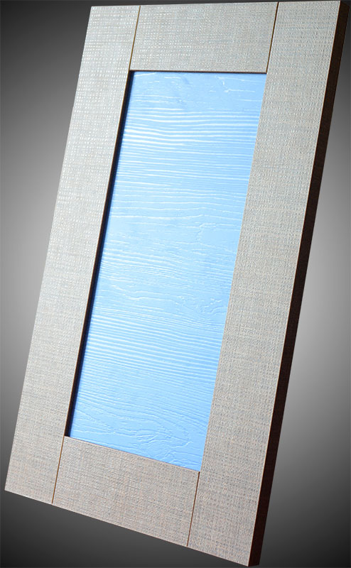 Фасад из эко-плиты TSS