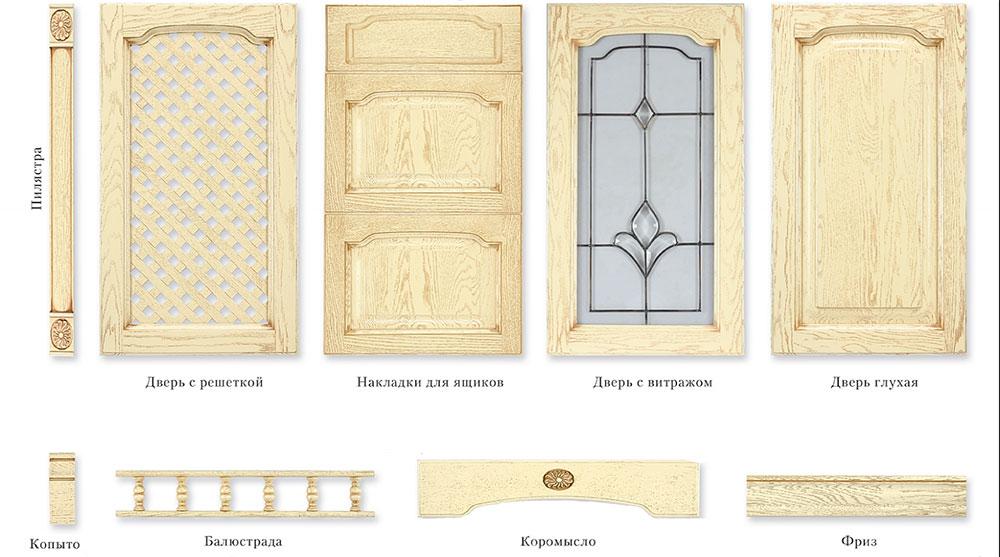 Варианты фасадов