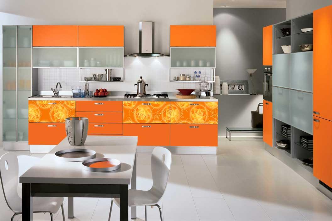Кухня Янтарный свет